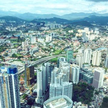 Výhľad z Petronas Twin Towers
